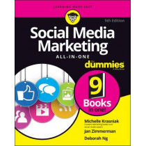 Social Media Marketing All-in-One For Dummies by Jan Zimmerman, 9781119696872