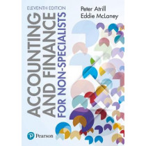 Accounting and Finance for Non-Specialists 11th edition by Peter Atrill, 9781292244013