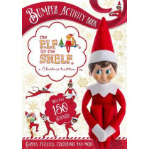 The Elf on the Shelf Bumper Activity Book: Games, Puzzles, Colouring and More with over 150 stickers by The Elf on the Shelf, 9781408359075