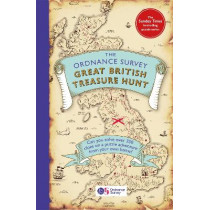 The Ordnance Survey Great British Treasure Hunt: Can you solve over 350 puzzles on a puzzle adventure from your own home? by Ordnance Survey, 9781409195115