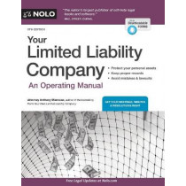 Your Limited Liability Company: An Operating Manual by Anthony Mancuso, 9781413326437