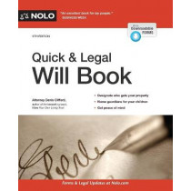 Quick & Legal Will Book by Denis Clifford, 9781413327687