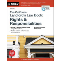 The California Landlord's Law Book: Rights & Responsibilities by Nils Rosenquest, 9781413328585
