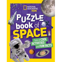 National Geographic Kids Puzzle Book: Space by National Geographic Kids, 9781426335518