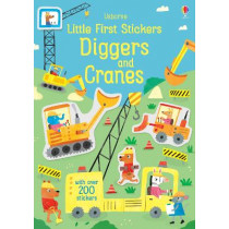 Little First Stickers Diggers and Cranes by Hannah Watson, 9781474952255