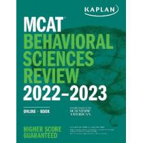 MCAT Behavioral Sciences Review 2022-2023: Online + Book by Kaplan Test Prep, 9781506276625