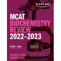 MCAT Biochemistry Review 2022-2023: Online + Book by Kaplan Test Prep, 9781506276632