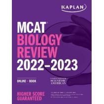 MCAT Biology Review 2022-2023: Online + Book by Kaplan Test Prep, 9781506276700