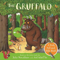 The Gruffalo: A Push, Pull and Slide Book by Julia Donaldson, 9781529040715