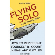 Flying Solo by Alex Woods, 9781716555312