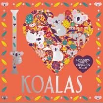 I Heart Koalas by Lizzie Preston, 9781780557250