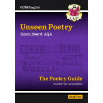 New Grade 9-1 GCSE English Literature AQA Unseen Poetry Guide - Book 2 by CGP Books, 9781782949268
