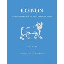 KOINON III, 2020: The International Journal of Classical Numismatic Studies by Nicholas J. Molinari, 9781789698114