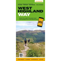 West Highland Way: Easy-to-use folding map and essential information, with custom itinerary planning for walkers, trekkers, fastpackers and trail runners, 9781839810329