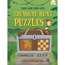Treasure Hunt Puzzles: Train Your Brain With by Dr Gareth Moore, 9781910684832