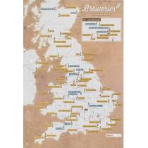 UK Breweries Collect & Scratch Print, 9781912203987