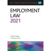 Employment Law 2021 by Phillips, 9781913226862