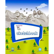 SpotZ The Frenchie(TM) SKETCHBOOK: 120 pages - 8″x10″ - Softcover - Grade School - College - Branded - Office Supplies by Viki Merchandise, 9781950263288