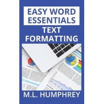 Text Formatting by M L Humphrey, 9781950902255