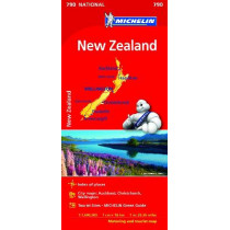 New Zealand - Michelin National Map 790: Map, 9782067217201