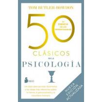 50 Clasicos de la Psicologia by Tom Butler-Bowdon, 9788418531408
