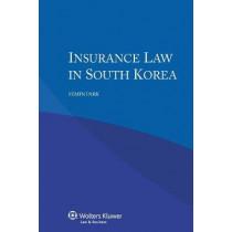 Insurance Law in South Korea by Semin Park, 9789041158413