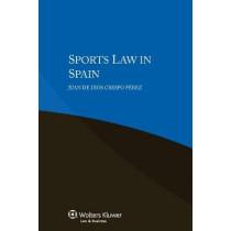 Sports Law in Spain by Juan De Dios Crespo Perez, 9789041160188