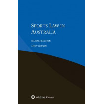 Sports Law in Australia by Andy Gibson, 9789041194817