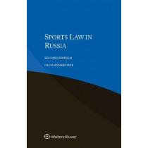 Sports Law in Russia by Olga Rymkevich, 9789403500539